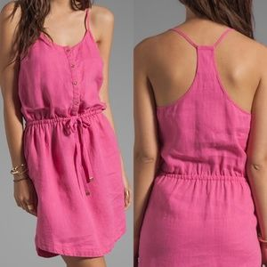 Juicy Couture Linen Racerback Dress Size XL